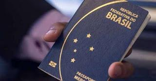 Símbolo Mercosul fora dos passaportes