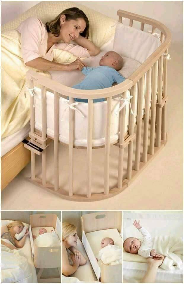 Baby Sleeping In Bedroom With Parents: Our DIY Co-Sleeping Crib