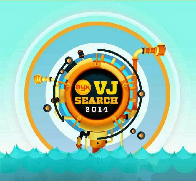 MYX VJ Search 2014 logo