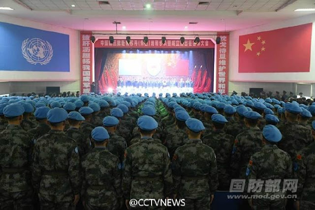 China will send a third batch of 700 peacekeepers to Juba