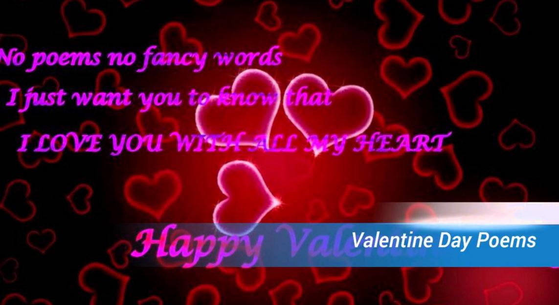 Short Valentine Poems For Him And Her   Short Love Poems On This Valentineu0027s  Day