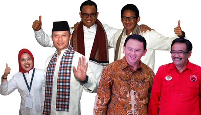 Pilkada DKI Jakarta -Agus, Ahok atau Anies. Siap yang terpental?
