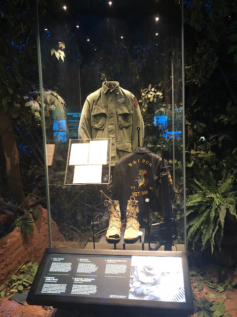 Artifacts from soldiers bring the history of the 1st Infantry Division to a personal level at the First Division Museum.