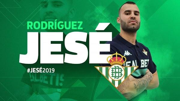 Oficial: Betis, llega cedido Jesé Rodríguez
