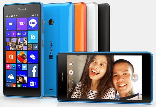 Microsoft Lumia 540 Coming This June, 5-inch HD Quad Core WP 8.1 for Php7,990