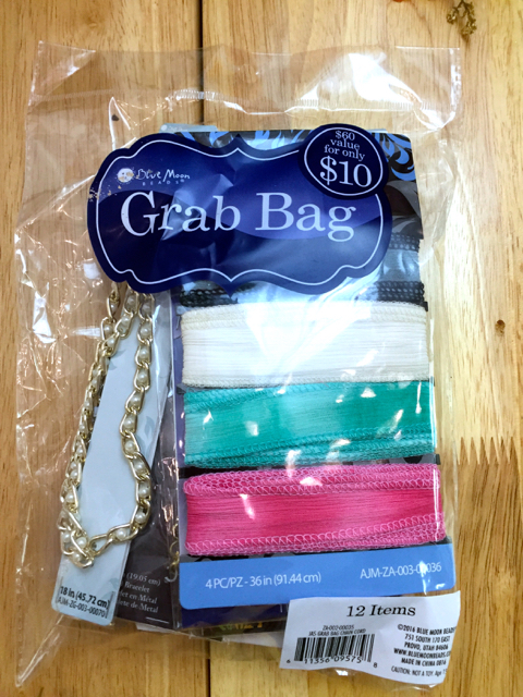 Keep Calm And Craft On Joanns Blue Moon Bead Grab Bag Contents