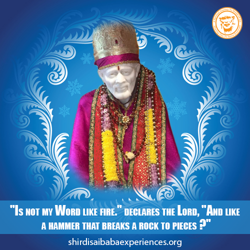 Prayer For The Financial Loss In Business - Anonymous Sai Devotee