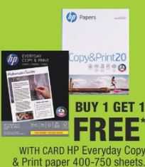 HP Everyday Copy Paper 400 Sheets