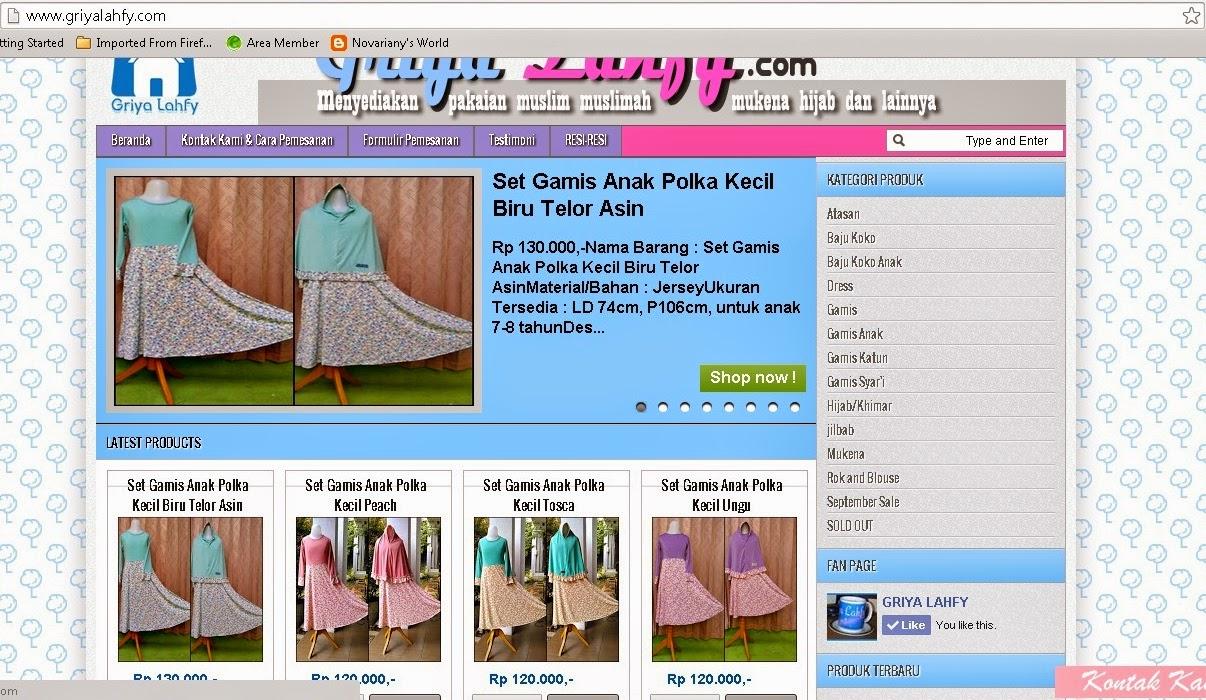 griya lahfy pusat belanja online baju muslim