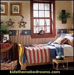 Delightful Primitive Americana Decorating Style   Folk Art   Heartland Decor   Rustic  Americana Home Decor