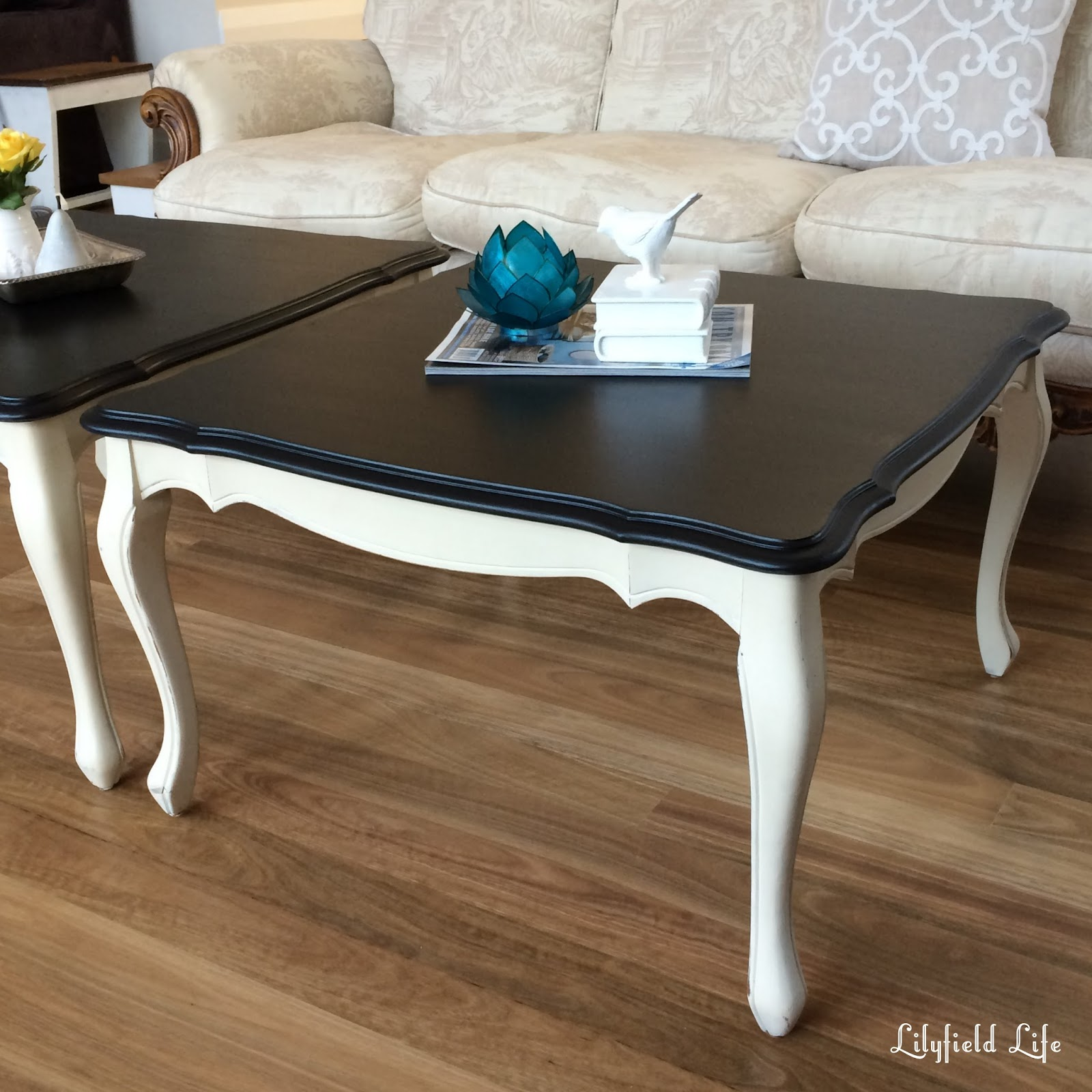 Lilyfield Life: A Pair Of French Style Coffee Tables
