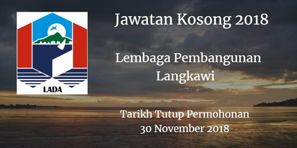 Jawatan Kosong LADA 30 November 2018