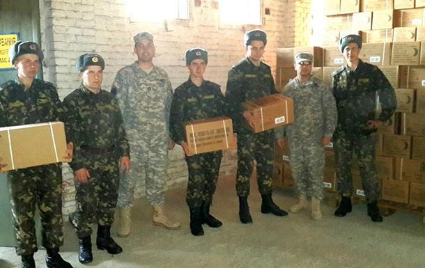 США передали українській армії 330 тисяч сухпайків