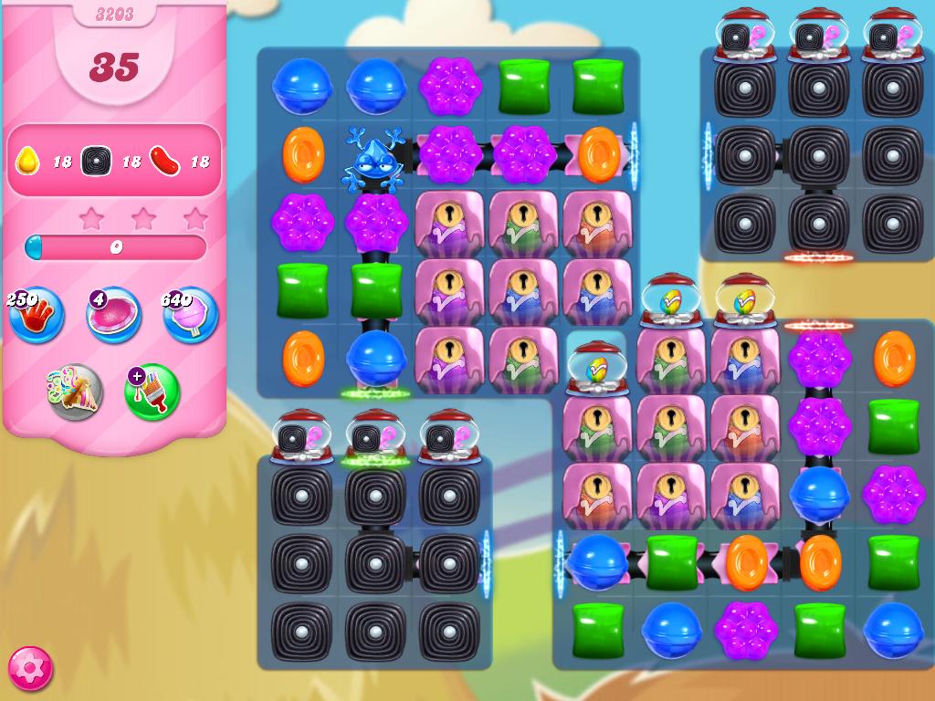 Candy Crush Saga level 3203