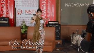 Lirik Lagu Suamiku Kawin Lagi - Siti Badriah