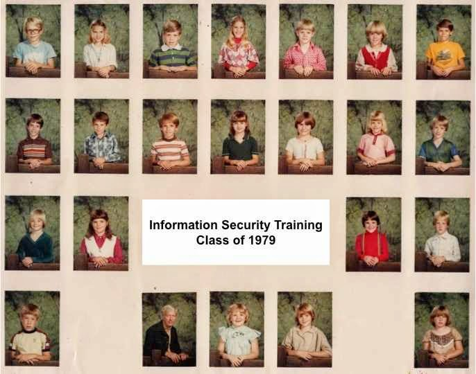 Life at 6700': Questioning Information Security: A couple of