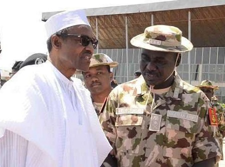 Buhari and Buratai