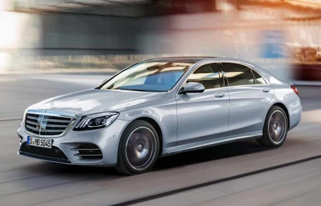2018 Mercedes-Benz Reveals S-Class Upgrades Unveiled Review