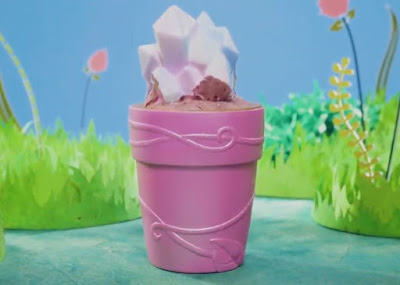 Кукла Blume в розовом цветочном горшочке