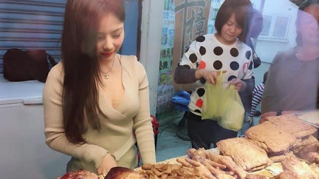 Restoran di Taiwan Angkat Model Jadi Manajer
