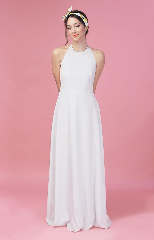 miss jones grey maxi dress