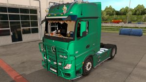 Mercedes MP4 truck standalone + tuning