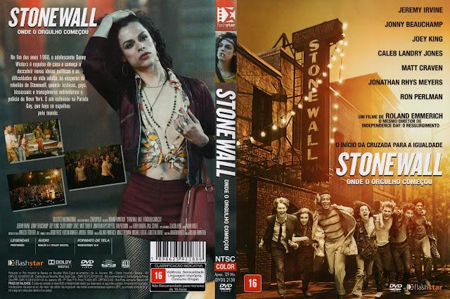 Capa DVD Stone Wall Onde O Orgulho Começou