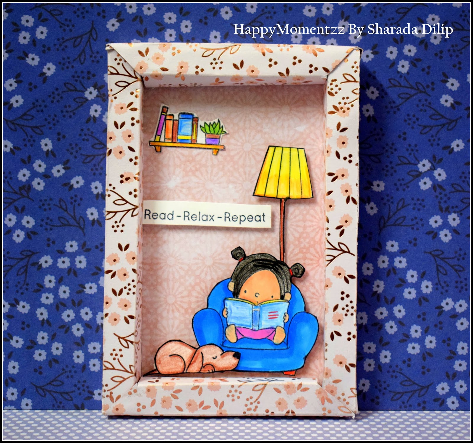 Happymomentzz Crafting By Sharada Dilip Our Story Shadow Box