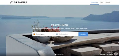 """Antes de viajar, consulta la aplicación web """"The Base Trip"""""""