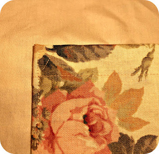 vintage fabric, tissu vintage,tutoriel fabrication d'un sac, how to make a bag