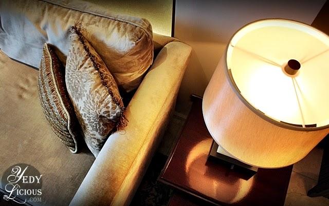Oakwood Hotel Manila Ortigas / Living Room