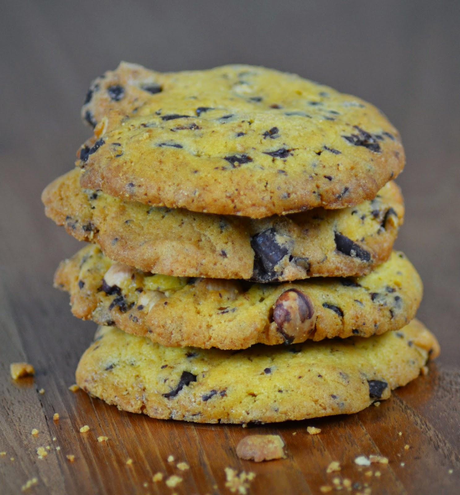 Zelf koekjes bakken met chocolade en hazelnoot