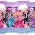 Cajas de Barbie para Imprimir Gratis.