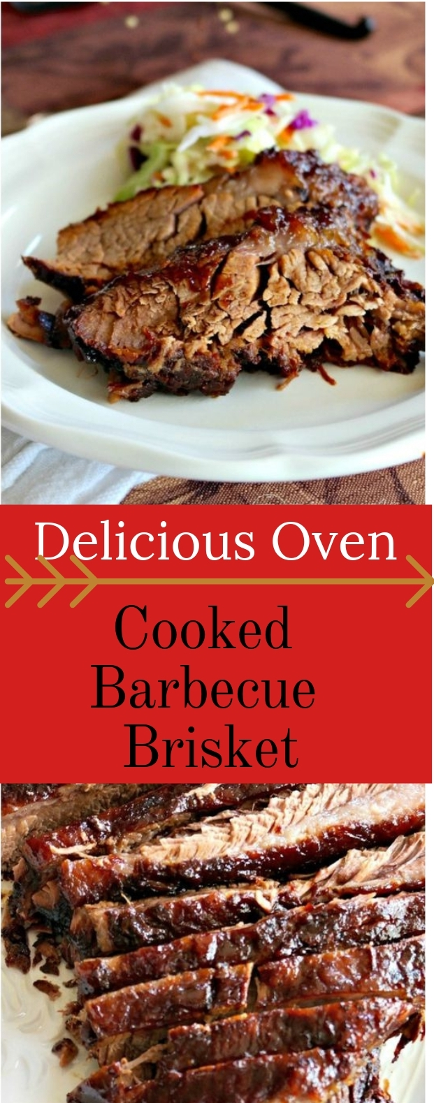 DELICIOUS OVEN COOKED BARBECUE BRISKET #barbecue #easy