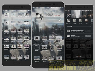 download Theme Pack MIUI 超凉爽水滴特效 Droplets Water Cool Effects Mtz