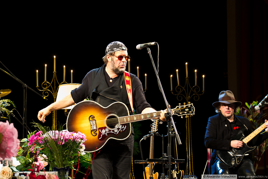 Борис Гребенщиков на концерте в Саранске, 2013
