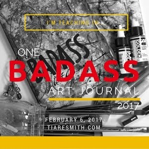 One Badass Art Journal 2017