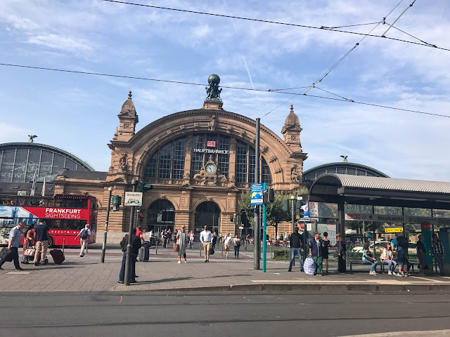 Frankfurt Main Train Station