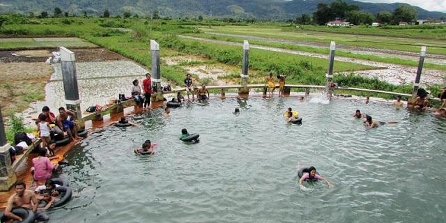 Nikmati Permandian Air Soda, Wisata Tapanuli Utara Sekelas Venezuela