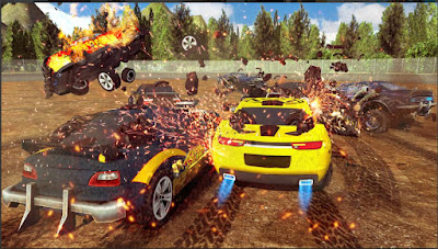 Game Tabrak Mobil Offline: Demolition Derby 2019 Apk