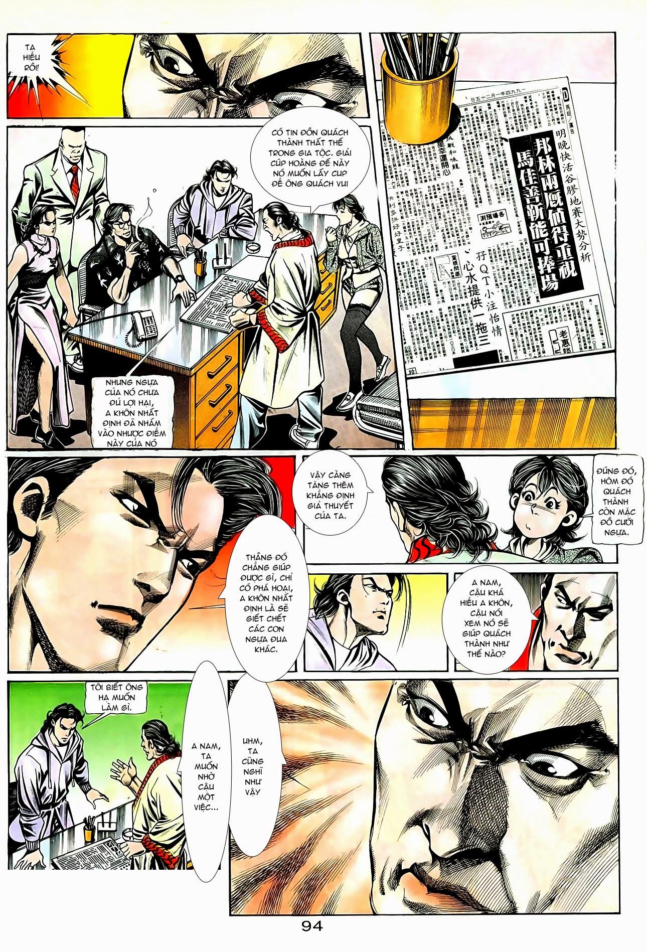 Người Trong Giang Hồ chapter 94: hoàng giả chi phong trang 25