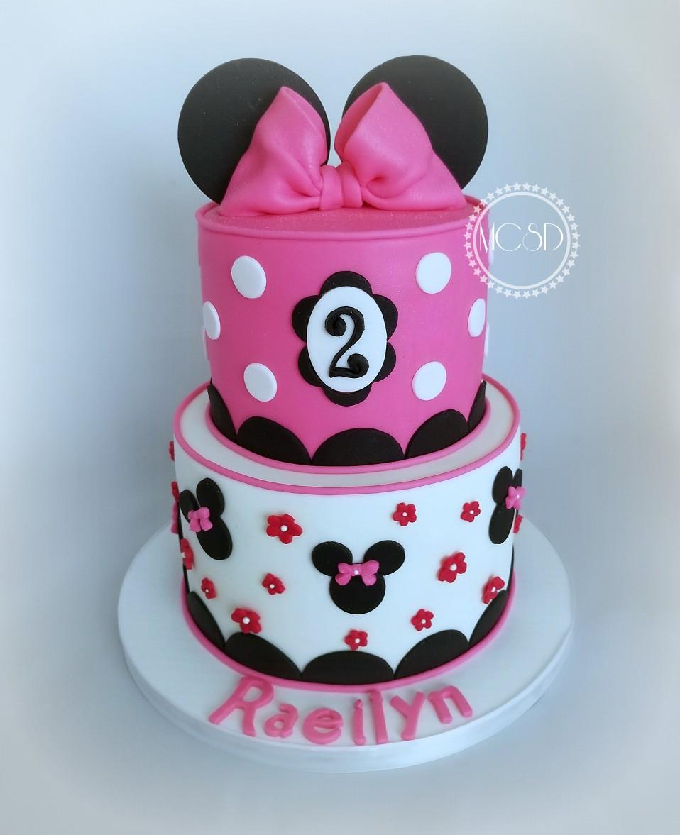Stupendous Cakesbyzana Minnie And Mickey Mouse Themed Birthday Cake Funny Birthday Cards Online Unhofree Goldxyz