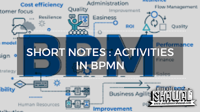 Short Notes : Activities in BPMN