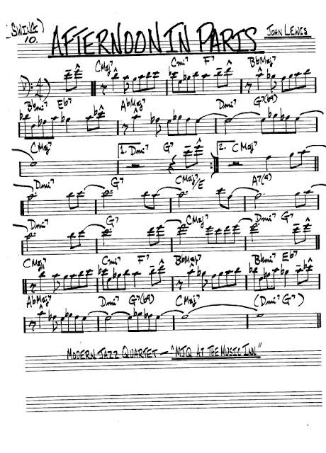 Partitura Violonchelo John Lewis