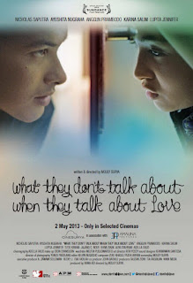 Film Indonesia ini memakai judul dalam bahasa Inggris Download Film What They Don't Talk About When They Talk About Love 2016 Tersedia