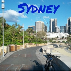 Cycling in Sydney