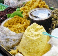 Makanan Khas Nasi Tiwul Sambel Trasi Pacitan