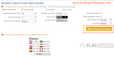 Add Flag Counter To Blogger 1