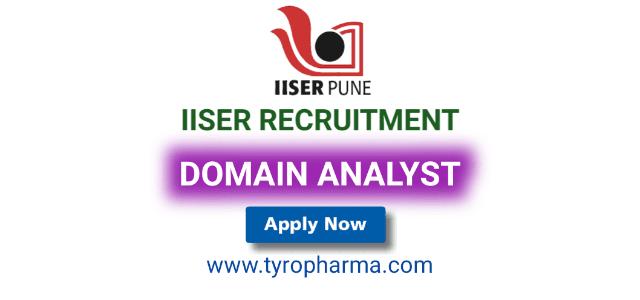 IISER Pune Domain Analyst Job Recruitment 2019 | 07 Domain Analyst Job Vacancies