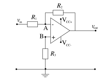 inverting op amp picture